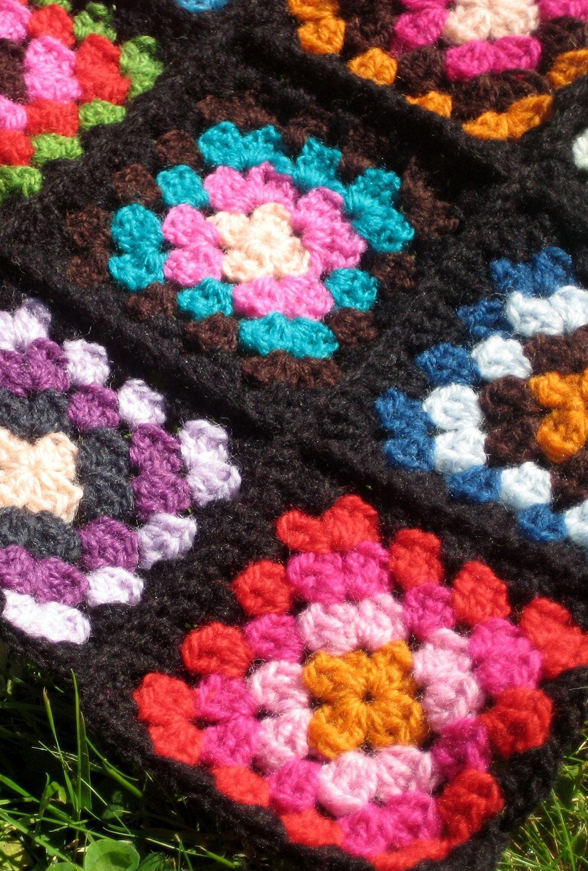Flores unidas como tapete