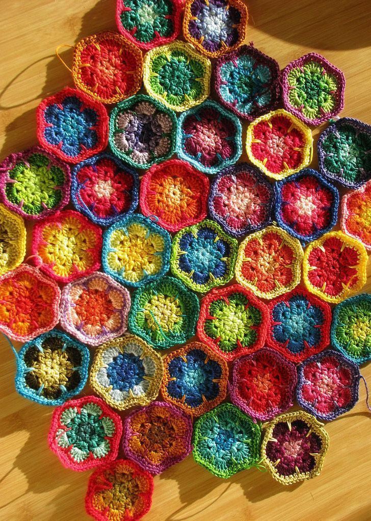 Unindo flores super coloridas