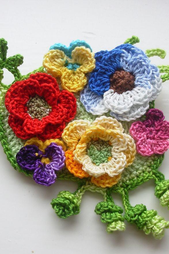 Reúna vários tipos de flores