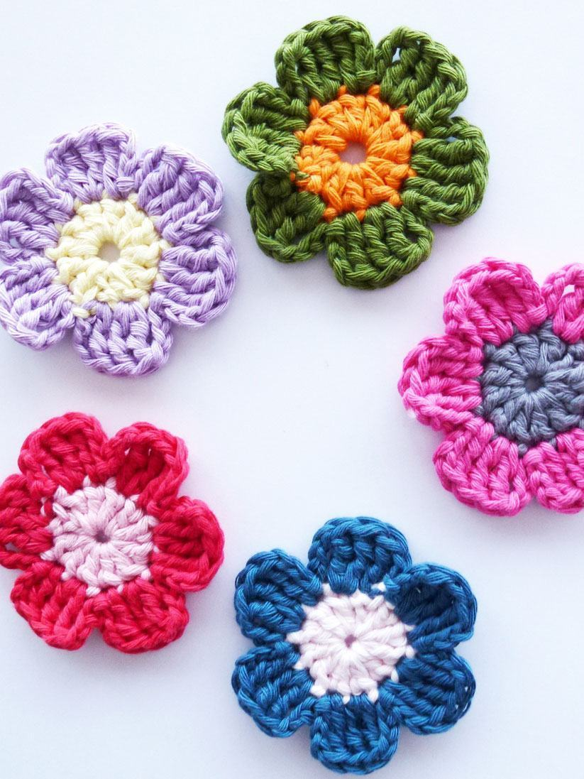 Flores De Crochê 125 Modelos Fotos E Passo A Passo