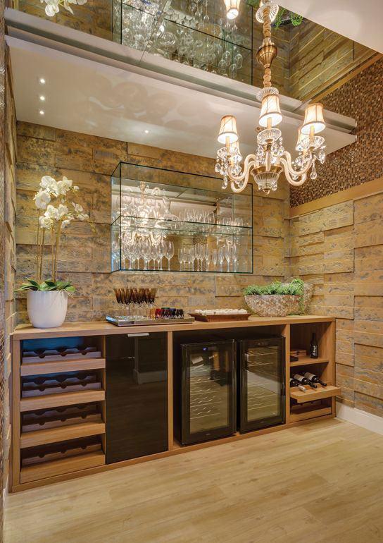 Bar de parede 60 modelos projetos e fotos incr veis for Modelos de bar en madera rustica