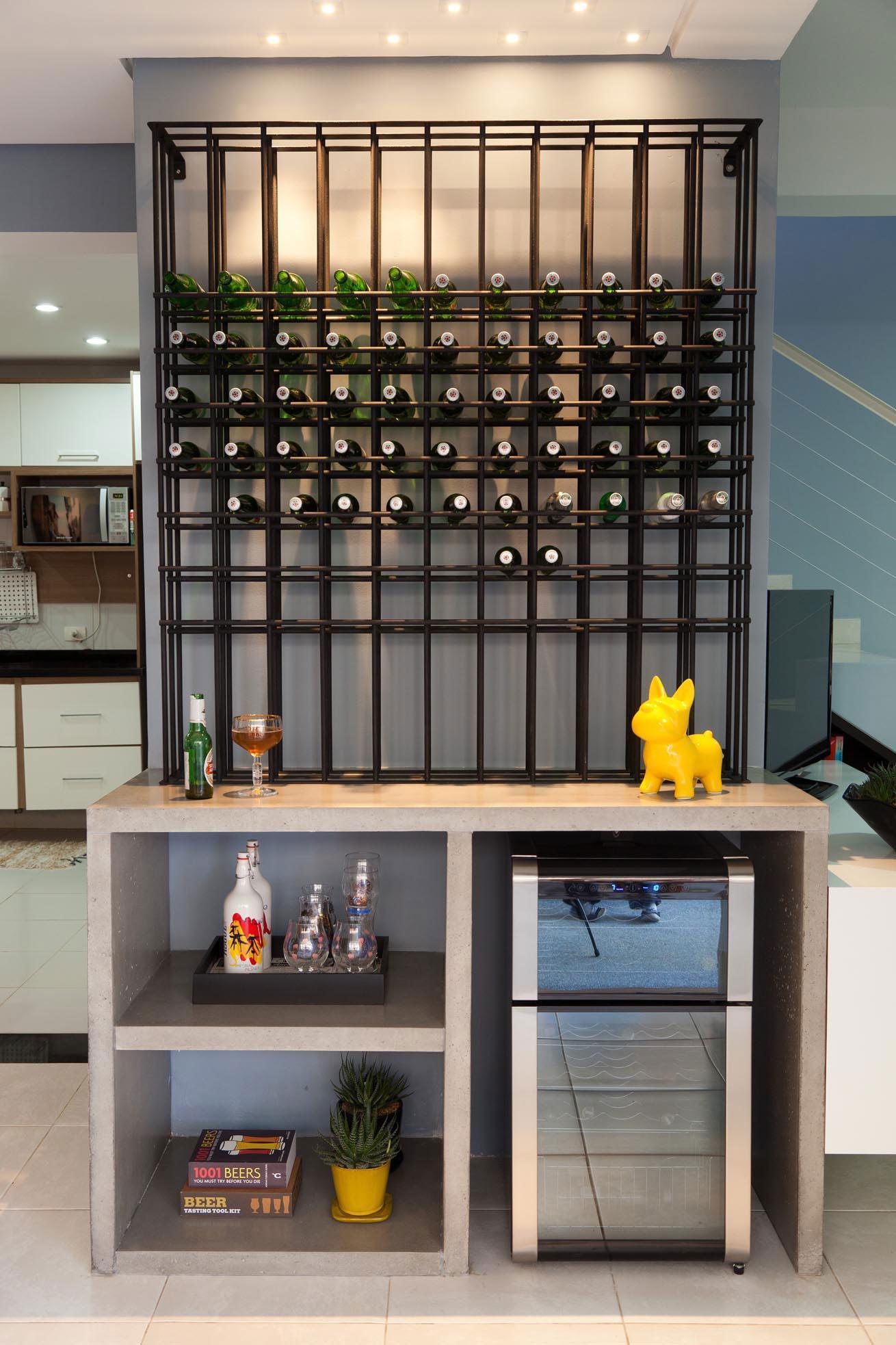 Bar de parede 60 modelos projetos e fotos incr veis for Em muebles