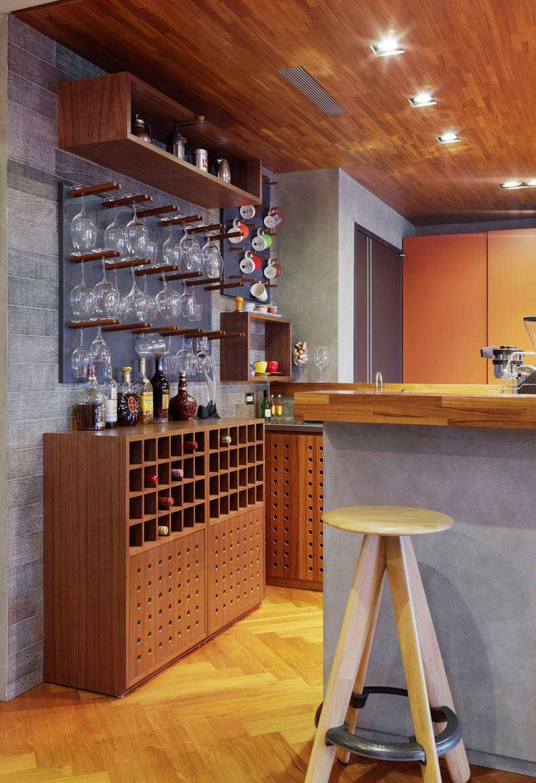Aproveite o novo conceito das varandas para montar um bar