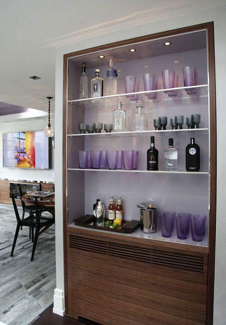 #445640 Bar de Parede 60 Modelos Projetos e Fotos Incríveis 445x640 píxeis em Bar Moderno Para Sala De Estar Imbutido