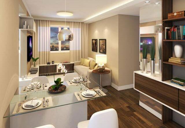 Cor bege: decoração de ambientes com 60 projetos incríveis