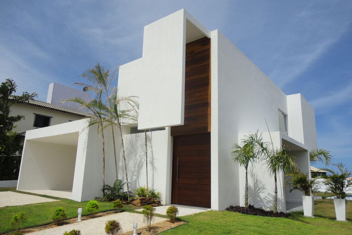 Casa com cobertura invisível