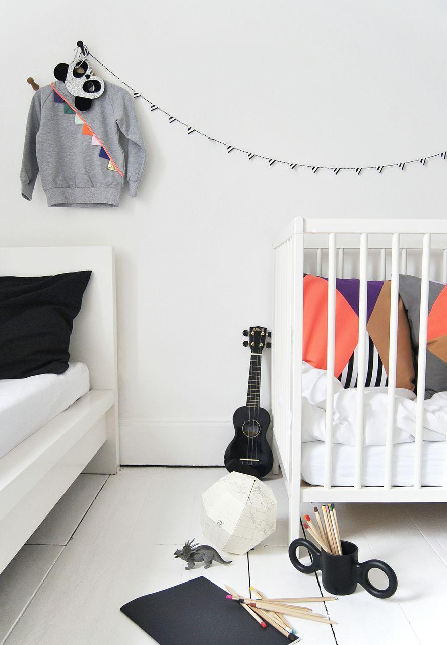 Decoração de quarto de menino moderno