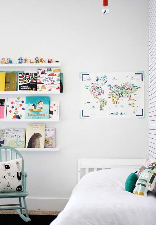 Livros infantis para despertar a criatividade em prateleiras