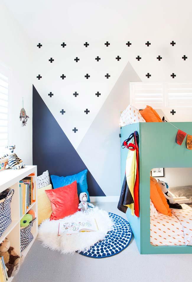 Decoração de quarto de menino criativo