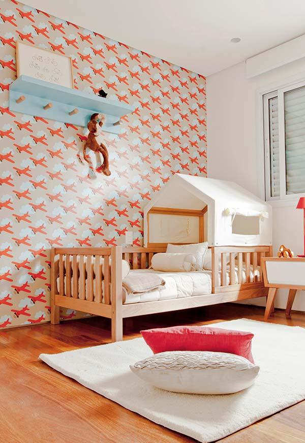 Decoração de quarto de menino tema aviões