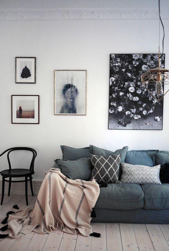 Manta para sofá na sala