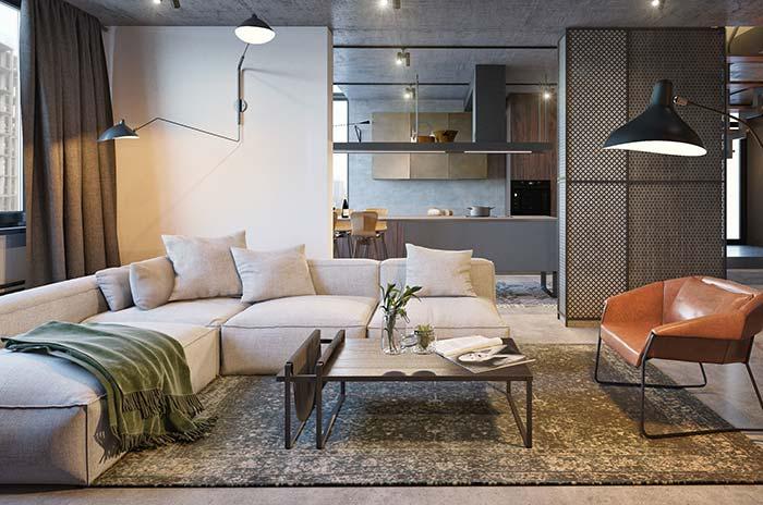 Manta para sofá na cor verde