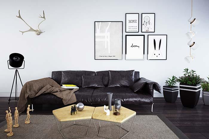 Manta para sofá de couro