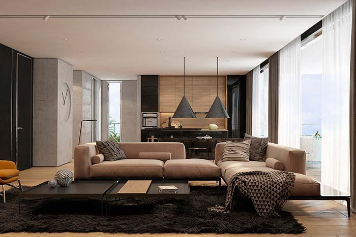 As franjas são a marca registrada das mantas para sofá