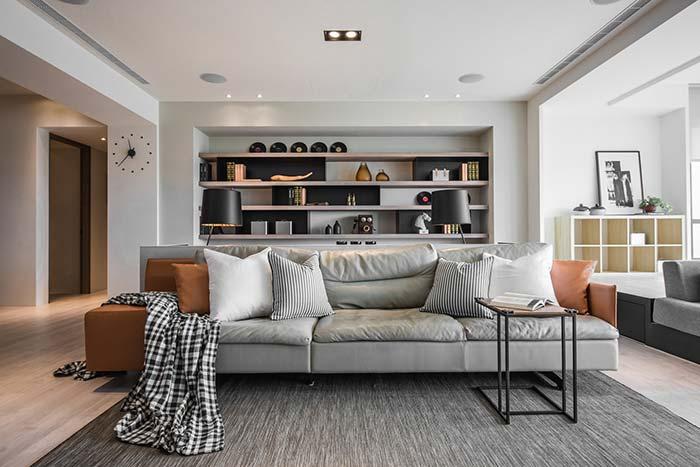 Mantas para sofá: olha o xadrez aí de novo!
