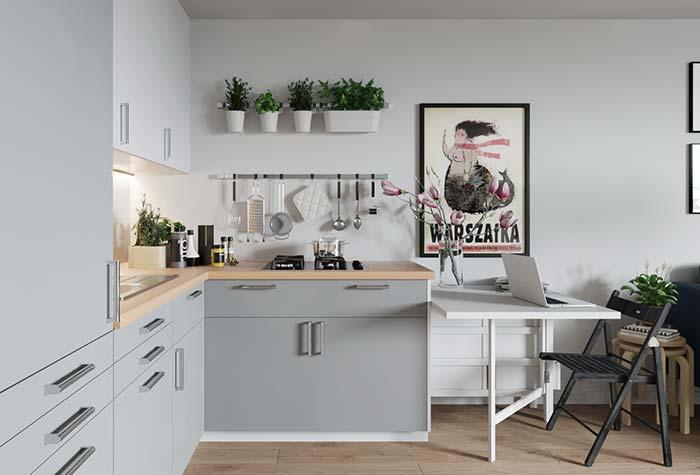 Alguns vasinhos na parede já são suficientes para dizer que você tem um jardim vertical em casa