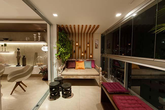 Jardim vertical para apartamento