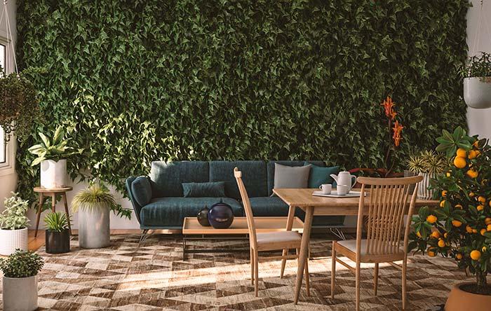 A receita para uma casa aconchegante é essa: plantas, plantas e plantas