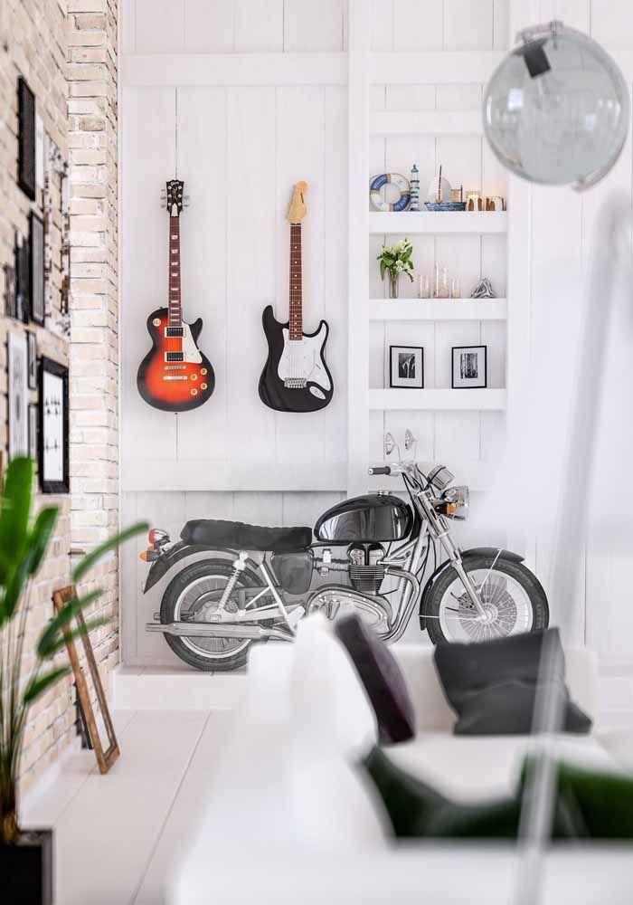 A Harley Davidson marca o estilo vintage dessa casa