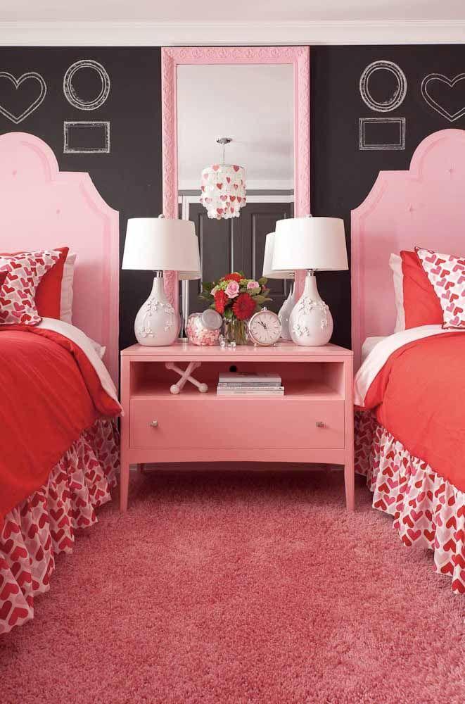 Abajur: um elemento fundamental na decoração de um quarto de estilo vintage