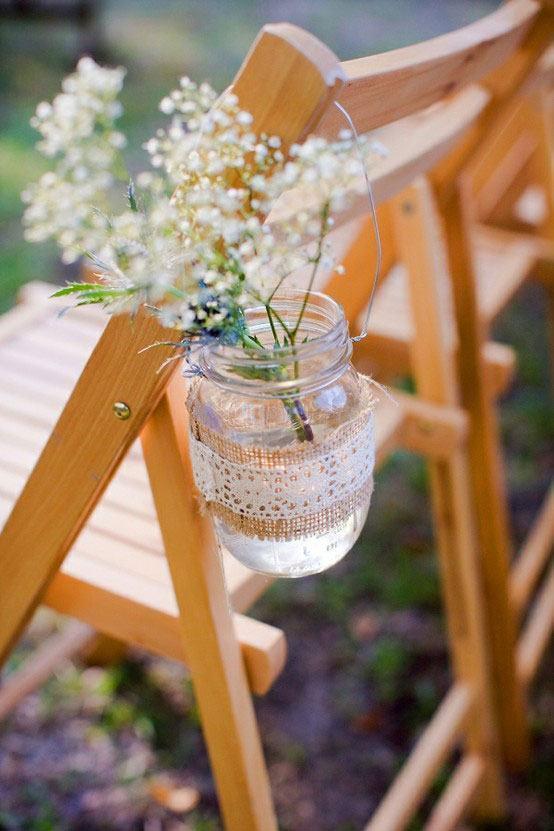 Para decoração de casamento no campo