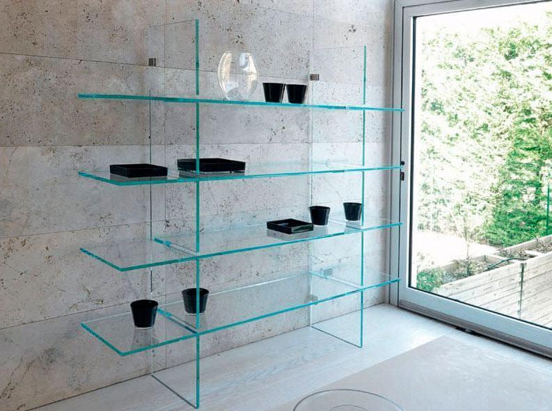 Estante De Vidro Temperado : Prateleiras de vidro modelos e ideias para decorar