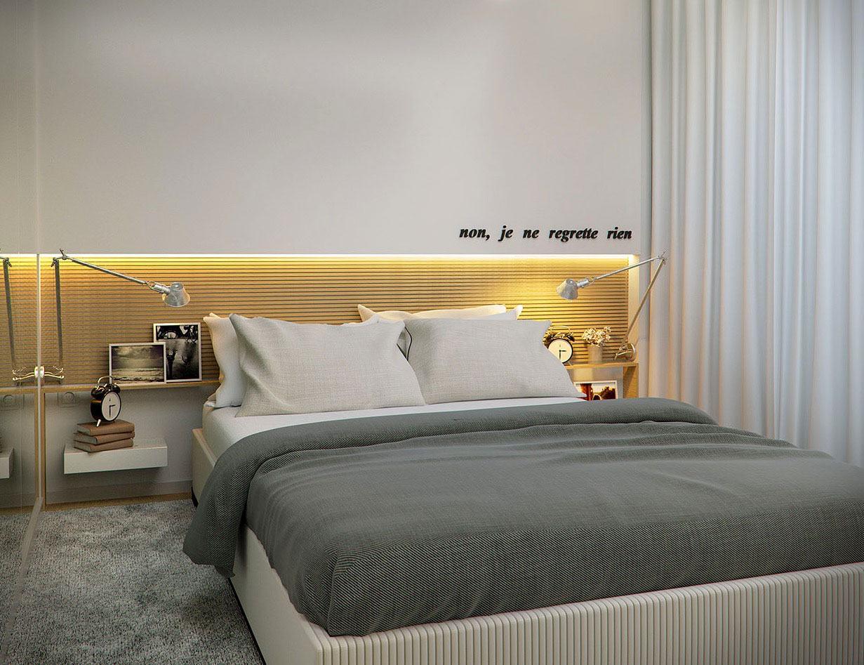 Nichos para quarto de casal 60 modelos e ideias incr veis for Ruban led chambre