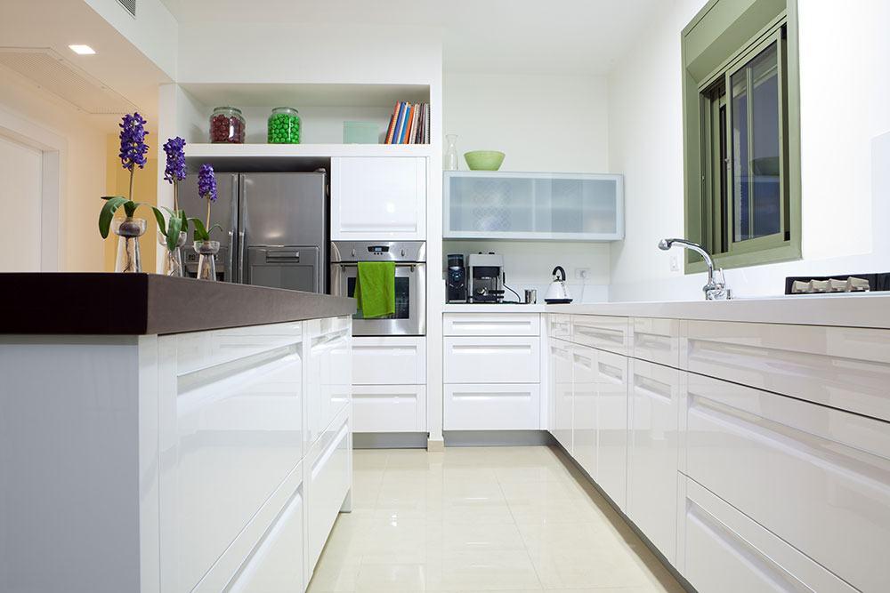 A janela pode ser o item de destaque na cozinha