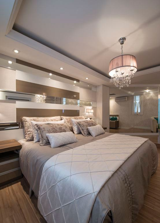 Essa peça demonstra charme e beleza para o quarto de casal.