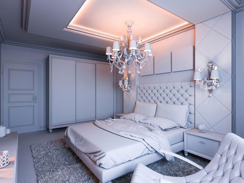 Lustre para quarto de casal 60 modelos em projetos lindos for Plafonnier chambre a coucher