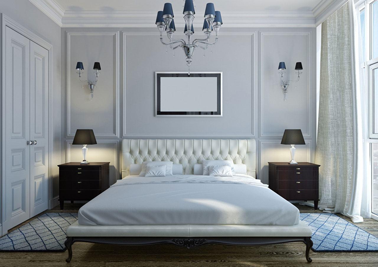 Aqui o modelo ganha uma versão reduzida na parede o que ajuda a manter o toque delicado no quarto.