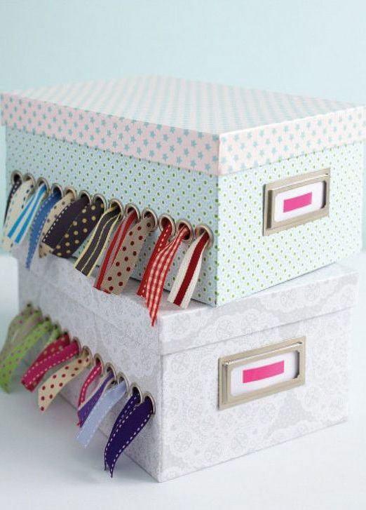 Artesanato com caixa de sapato e papelão: 60 fotos lindas