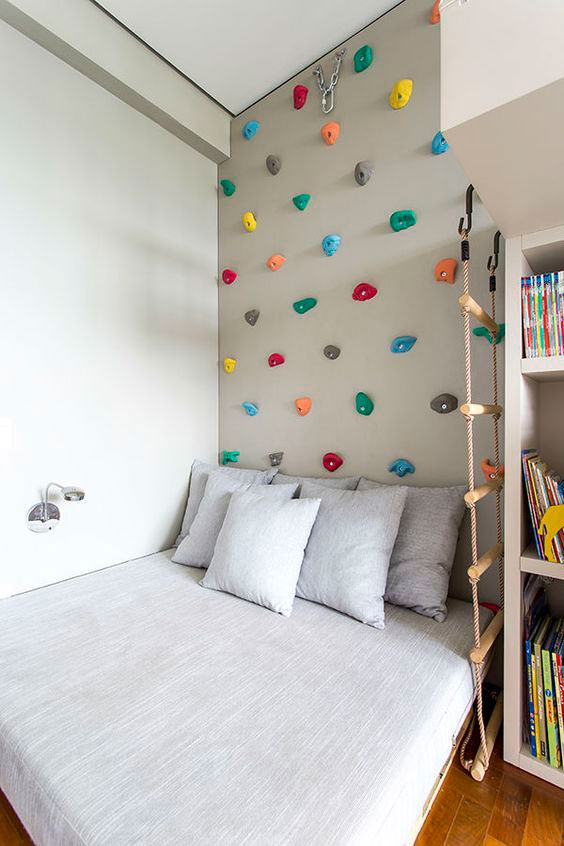 Quarto montessoriano 60 projetos incr veis e inteligentes - Bedroom ideas for yr old girl ...