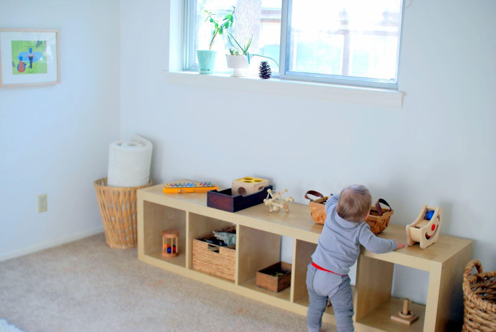 Quarto Montessoriano 60 Projetos Incríveis e Inteligentes ~ Quarto Montessori Moveis