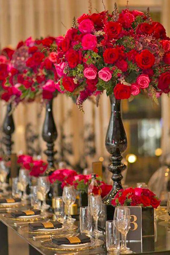 As rosas embelezam qualquer espaço!