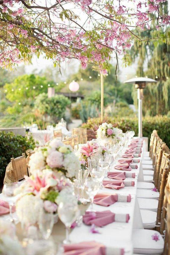decora o de casamento rosa 84 fotos inspiradoras. Black Bedroom Furniture Sets. Home Design Ideas