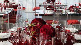 Decoração de casamento vermelho: 80 fotos inspiradoras