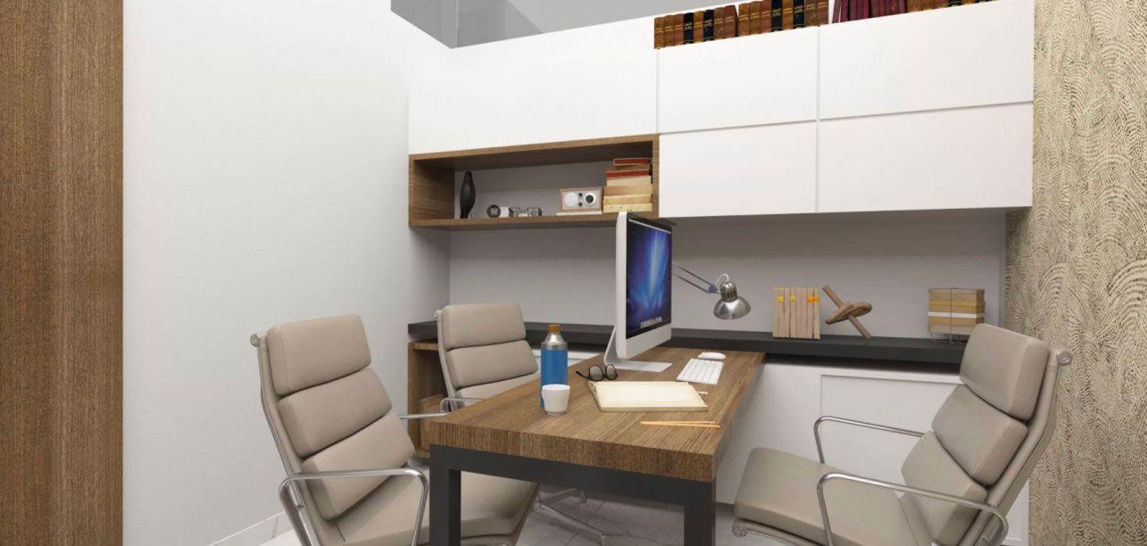 Decora o de escrit rio de advocacia 60 projetos e fotos - Mesas de arquitectura ...