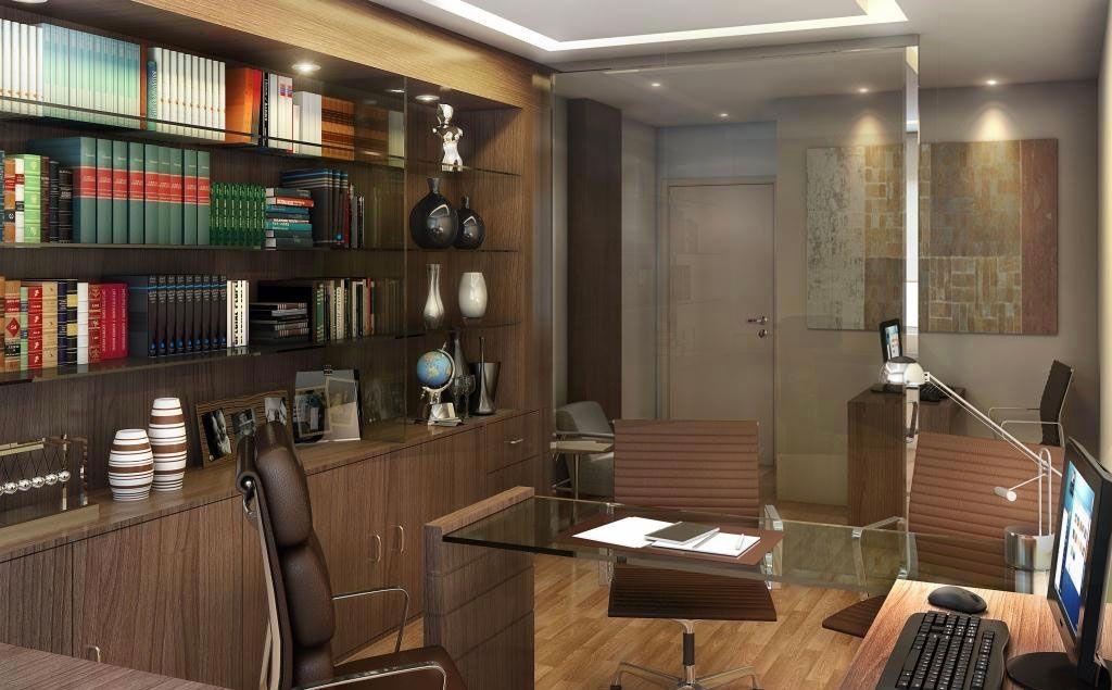 Preferência Decoração de Escritório de Advocacia: 60 Projetos e Fotos IQ24