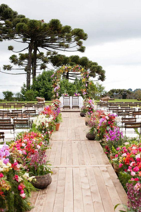 Muitas vezes Decoração de Casamento no Campo: 90 Fotos Inspiradoras US92