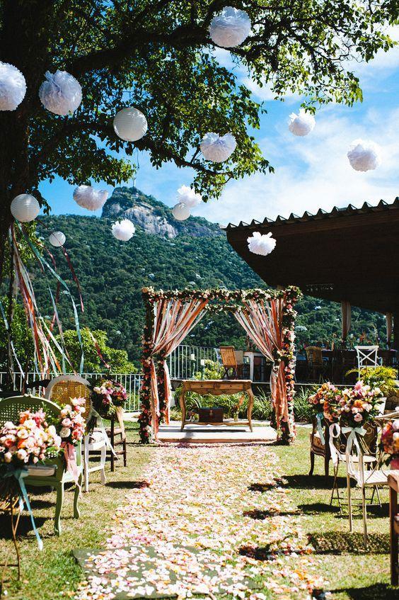Conhecido Decoração de Casamento no Campo: 90 Fotos Inspiradoras PV54