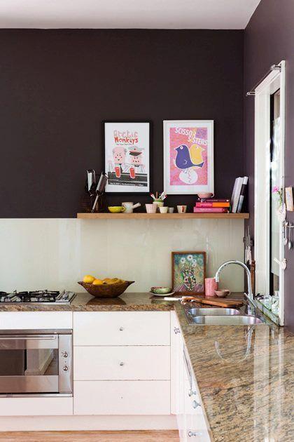 Uma simples pintura pode transformar sua cozinha.