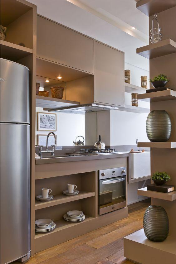 Perfeito para quem possui um espaço pequeno na cozinha.