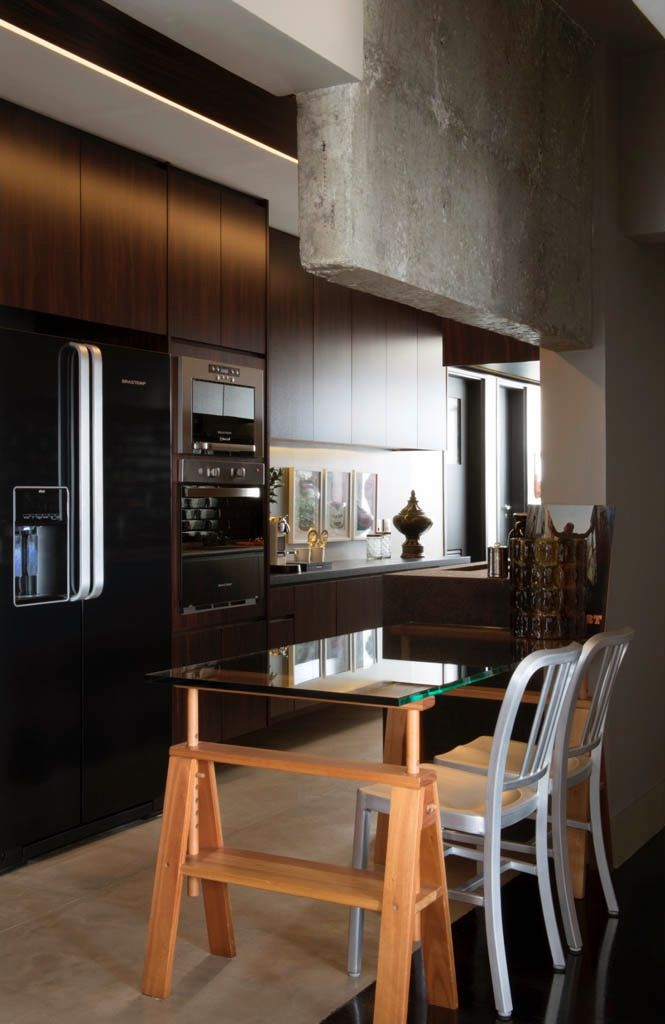 Para diferenciar os ambientes, faça uma composição no piso.