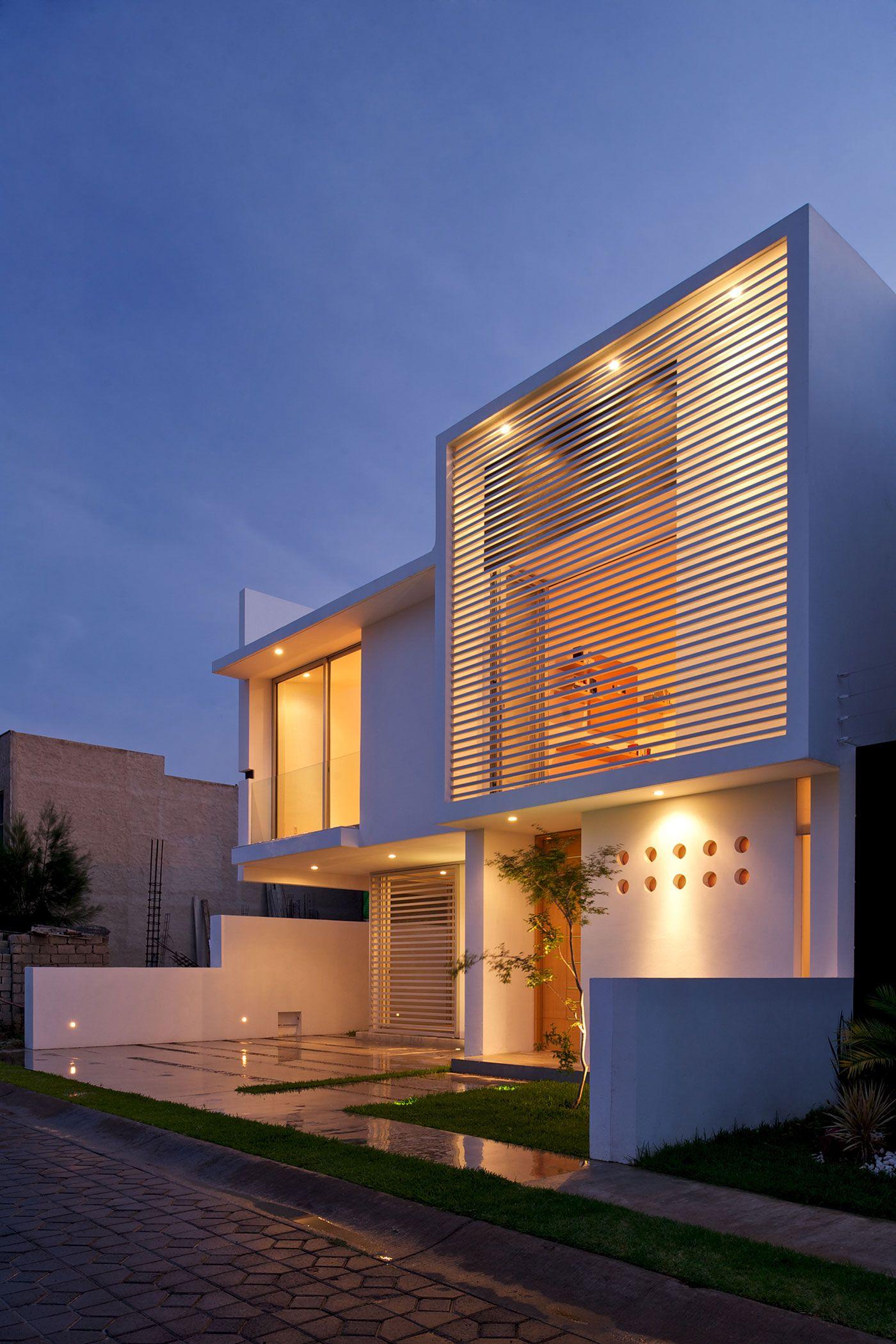 90 fachadas de sobrados modernos projetos incr veis - Material para fachadas ...