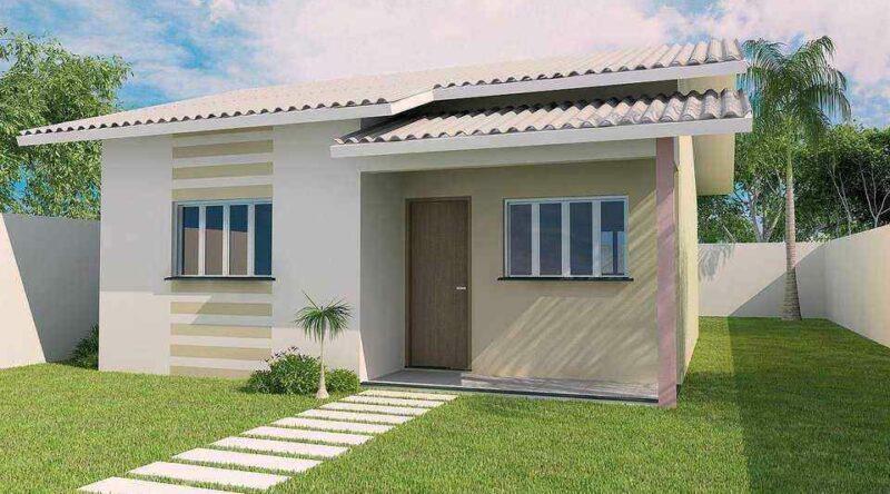 109 Fachadas de Casas Simples e Pequenas – Fotos Lindas!