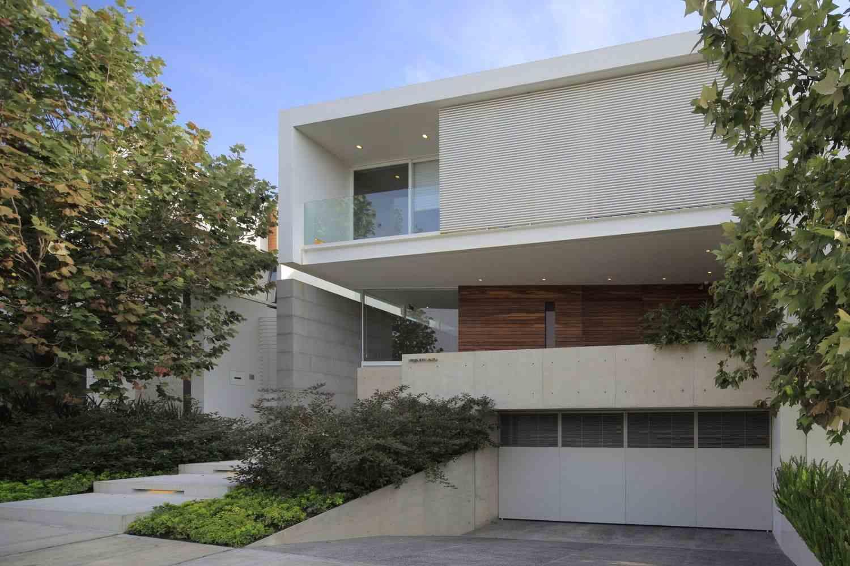 90 fachadas de sobrados modernos projetos incr veis for Casas modernas de 70m2