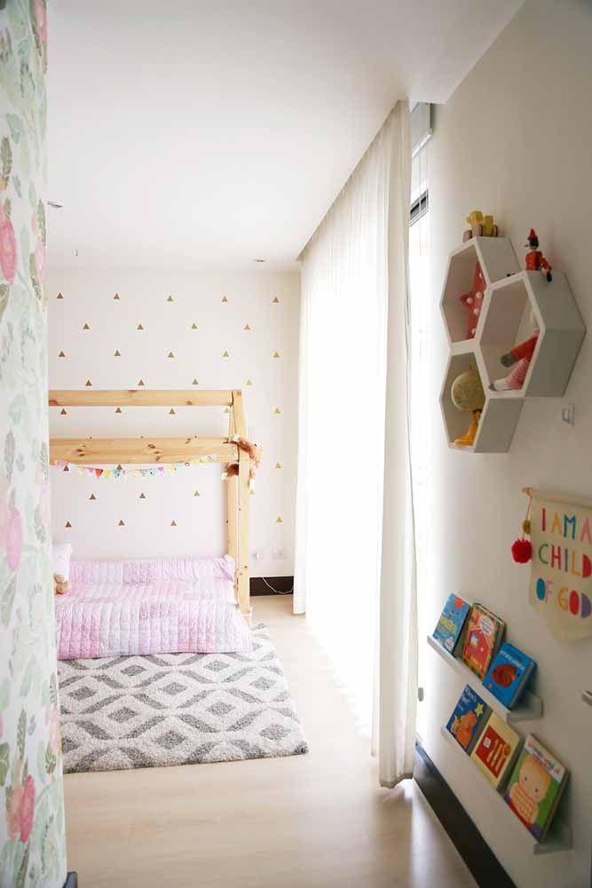 Outro quarto montessoriano para menina