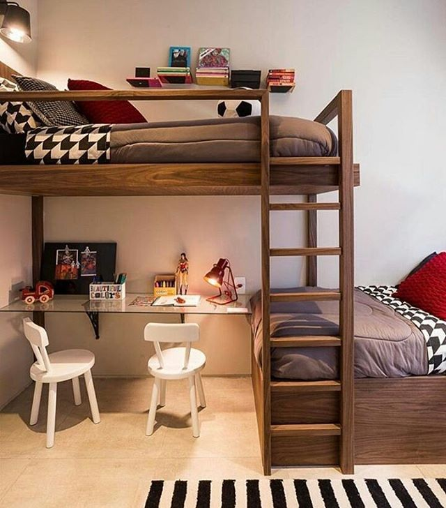 Loft Bed With Study Area