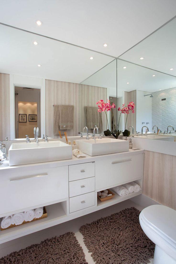 Gabinete para Banheiro 65 Modelos e Como Escolher -> Armario Para Banheiro Cassol